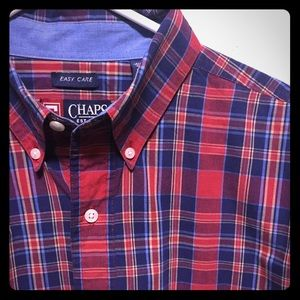 CHAPS PLAID LONG SLEEVES SHIRT FOR MEN